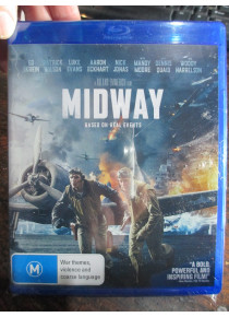 Midway 2020 Movie Blu Ray with special features
