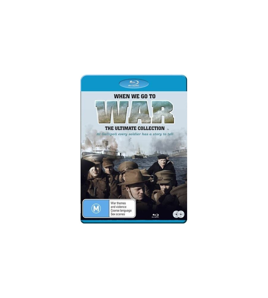 When We Go To War Gallipoli WW1 ANZAC Mini Series