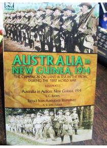 Australian in New Guinea 1914 L C Reeves Book