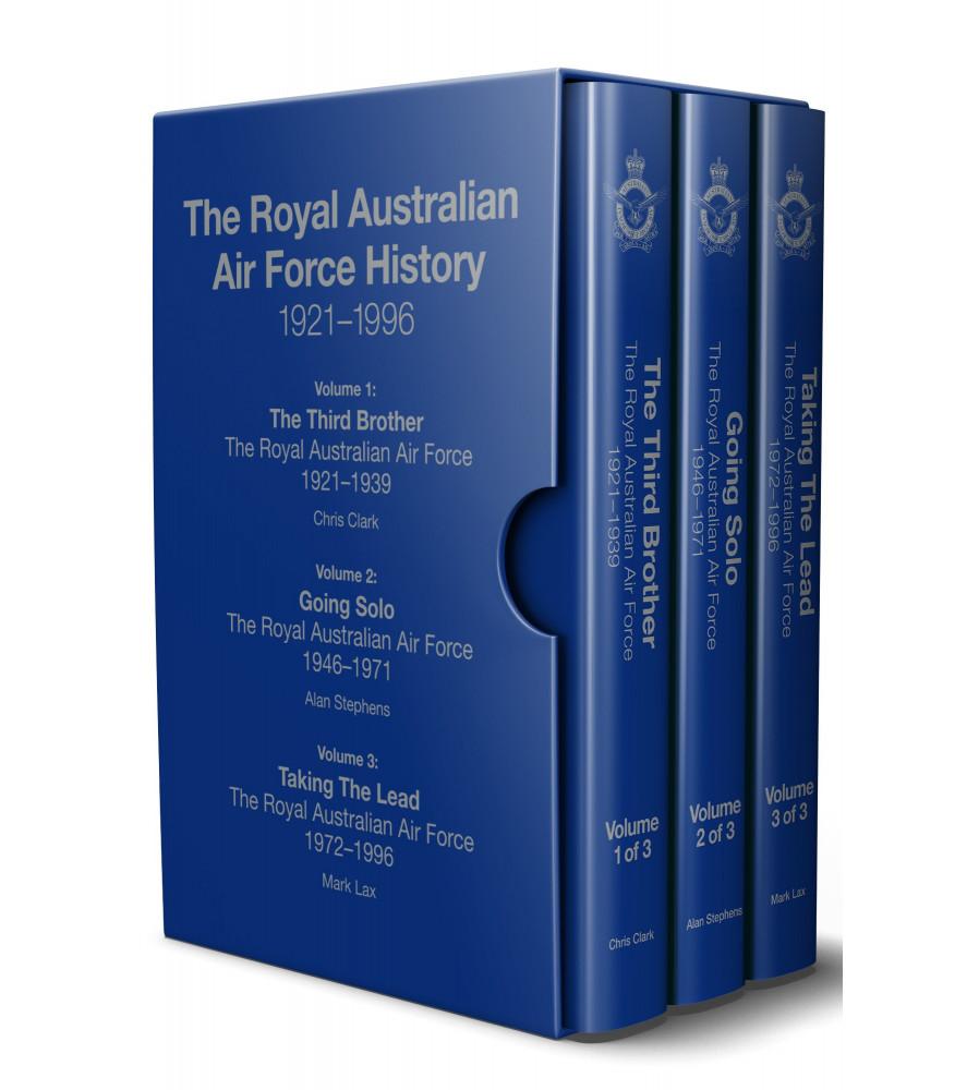 Royal Australian Air Force History - 1921-1996 x3 Volumes