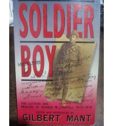 Soldier Boy 1st FAB Aust Field Artillery Brigadel