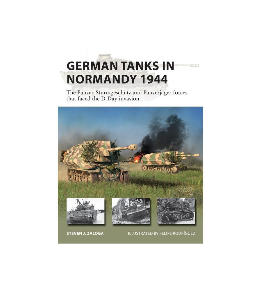 German Tanks Normandy 1944