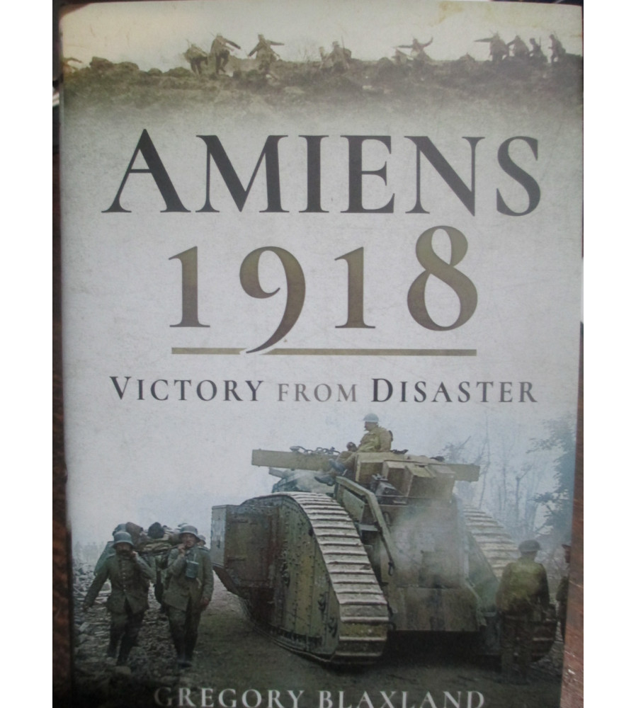 Amiens 1918 Victory from Disaster book