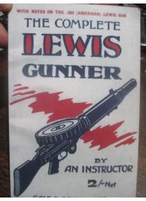 1918 Lewis Machine Gun Manual