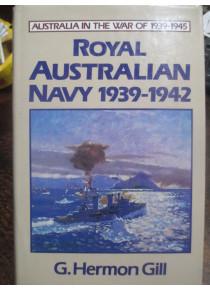Official History RAN Royal Australian Navy 1939-42 during WW2 Book