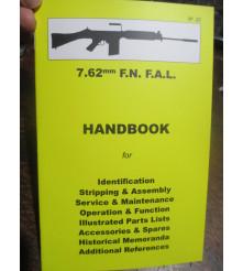 7.62 F.N. FAL Rifle HAND BOOK Maintenance