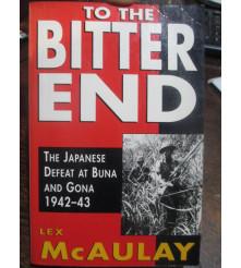 To The Bitter End Lex McAulay Book