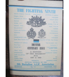 9th Battalion News No 12 Souvenir Centenary Issue
