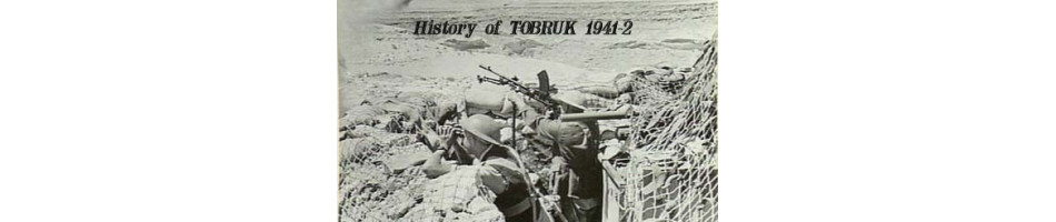 Military Books about the Siege of Tobruk 1941-42