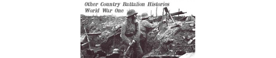 World War One Battalion History  MILITARY BOOKS