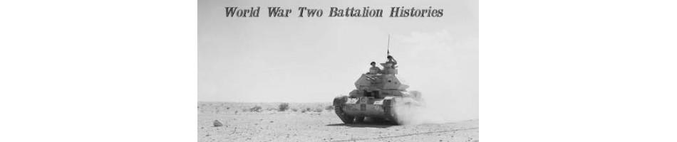 World War Two Battalion Military History Books