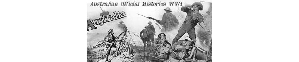 Australian Military History Books | Official Australian History of WW1 | War Books |