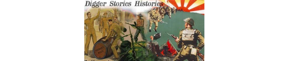 Digger war story  MILITARY BOOKS