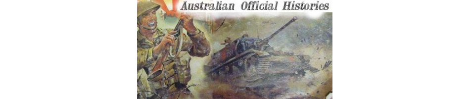 Official Australian World War Two Histories  MILITARY BOOKS