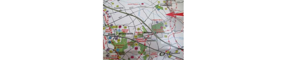 War Maps of WW1 Battlefields