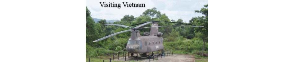 Books About Visiting Vietnam, battlefields, museums