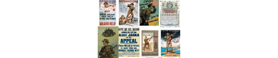 World War I Posters | Postcards | Recruiting Enlistment Posters |