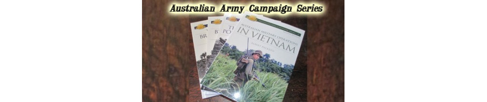 Australian Army Campaign Series Books