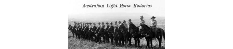 Buy Australian WW1 Light Horse Regimental Books