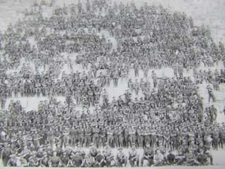 Famous Egypt pic of the 11th Battalion members