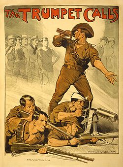 41st Battalion members were called by these type of posters